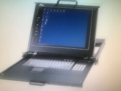 Middle Atlantic Rm-kb-lcd17 Rackmount Lcd Keyboard And Touchpad