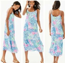 "Lilly Pulitzer NWT Women's  Winni  $188  ""Sink Or Swim""  Cute For Summer! $59.00"