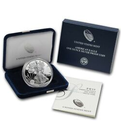 2010 - 2021 American Silver Eagle Proof Coins W Box And Coa 1 For Each Year