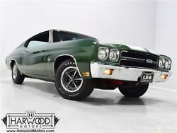 1970 Chevrolet Chevelle  1970 Chevrolet Chevelle  11679 Miles Forest Green Hardtop 454 cubic inch LS6 V8