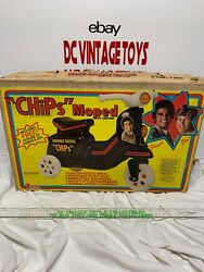 """Vintage 1981 Empire """"chips Tv Show Moped Ponch And Jon Very Rare Look"""