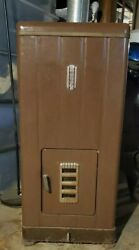 Florence Stove Company Antique Oil Heater Hr91c Local Pickup Chicago Brown
