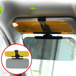 Interior Clip On Front Car Sun Visor Vehicle Glasses Shade Universal Accessories