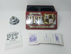 Classic Pit Card Game In Tin With Bell Decent Shape 100 Complete