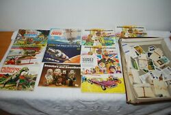 11 X Brooke Bond Tea Card Books Some Complete + Hundreds Of Cards In Vgc