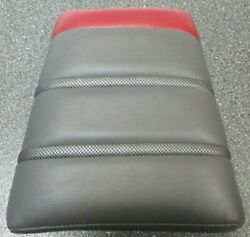 Boat Head Rest Dark Grey And Red