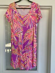 Lilly Pulitzer Large Short Sleeve Dress $45.00
