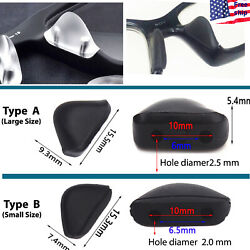 Oakley Replacement Nose Pads Nosepads Sunglasses Black Plug In Small Large $5.98