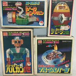 Shinsei Chogokin Toy Ufo Commander Seven Series Vintage Very Rare From Japan 4i
