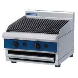 Blue Seal Gas Charcoal Grill Without Stand Commercial Lava Rock Chargrill