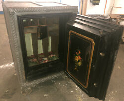 Antique Late 1800s Macneale And Urban Safe. 31.25andrdquox27andrdquox45andrdquo Tall. 1568lbs