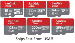 Sandisk Micro Sd Card Ultra Memory Card 256gb 400gb 512gb Note 20 Ultra S20 Lot