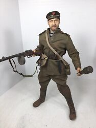 1/6 Dragon Custom Build Russian Red Navy Infantry Ppsh-41 And Rpg-43 Ww2 Bbi Did