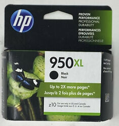 GENUINE HP 950XL Black Ink in Retail Box Expires Exp: Early 2020