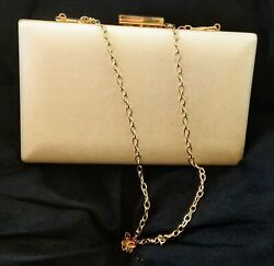 Jennifer Lopez Crossbody Clutch Bag White Pearl NEW WITH TAGS $16.50