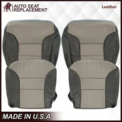 1999 2000 Chevy Tahoe Z71 Limited Sport Leather Seat Cover In 2tone Gray 132