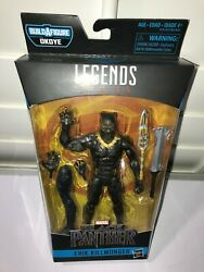 Marvel Legends Erik Killmonger Black Panther Okoye BAF MINT LOOK