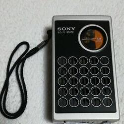 Sony Tr-4150 Transistor Radio 1973 With Special Covers Vintage From Japan Rare