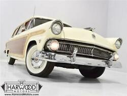 1955 Ford Other  1955 Ford Country Squire  1394 Miles White Station Wagon 272 cubic inch V8 Autom
