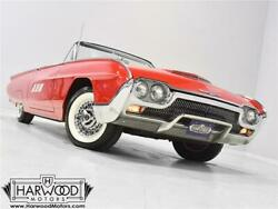 1963 Ford Thunderbird Convertible  1963 Ford Thunderbird Convertible  46414 Miles Red  390 cubic inch V8 3-speed au