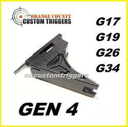 Glock Oem Trigger Housing With Ejector Fits Gen 4 9mm Glock 17 19 26 34 Sp30275