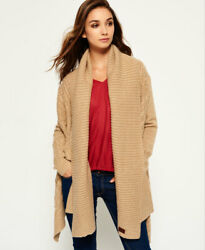 Superdry Womens Haden Cable Waterfall Cardigan $23.85
