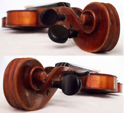 Old German Master Violin Schuster And Co 1922 - Video - Antique バイオリン скрипка 280
