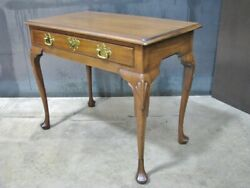 Mint Kittinger Queen Anne Style Mahogany Writing Or Dressing Table Cw 145