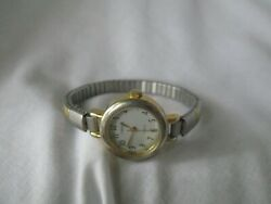 Carriage By Timex Gold And Silver Toned Elegant Wristwatch
