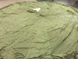 T-10 Reserve Military Parachute Pilot Chute Test Pack Tray Canopy Tears Rare
