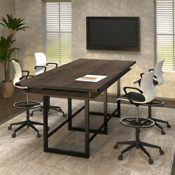 8'- 16' Standing Height Conference Table 42h Counter Height Modern Meeting Room