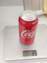 Empty Unopened Coca-cola Can Rare Factory Error