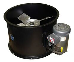 Spray Booth Fan - 24 Tube Axial 8600 Cfm - 1 Phase Motor - Made In The Usa