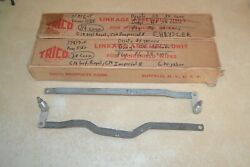 1938 Convertible Chrysler Dodge Desoto Plymouth Nos Wiper Linkages Trico Pair