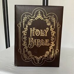 Holy Bible King James Version, Family Record Edition Vintage Early 1970s