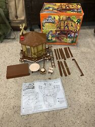 Vintage Land Of The Lost Porters Treehouse Original Box Playset Tiger Toys