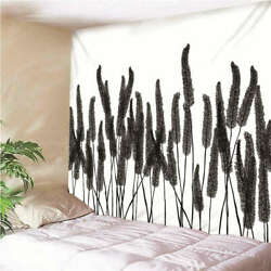 Wheat Ears Swaying In Wind 3d Wall Hang Cloth Tapestry Fabric Decorations Decor