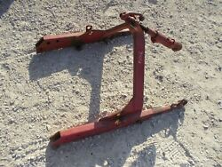 International Farmall 340 Utility Tractor Original Ih Quick Hitch And Top Link