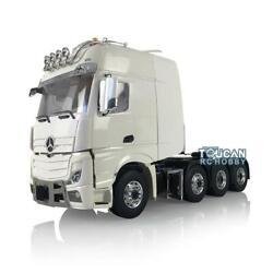 Lesu Rc 1/14 Metal Truck Chassis Benz Hercules Tractor Cab Light Air Conditioner