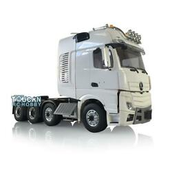 1/14 Lesu Truck Rc Metal Chassis Roof Light Hook Hercules Actros Cabin Tractor