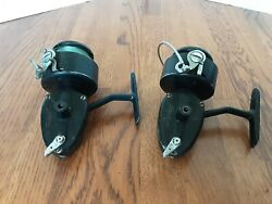 Vintage Garcia Mitchell 400 And 350 Reel France