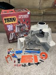 Rare Robo Force Fortress Of Steele Ideal Vintage Playset And Nice Original Box