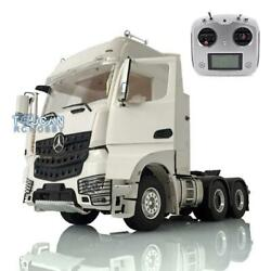 Lesu Rc Metal 1/14 Chassis 66 Radio Hercules Actros Cabin Tractor Truck Sound