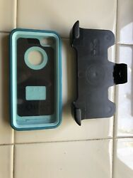 New Oem Otterbox Defender Case For Iphone 5c With Belt Clip Black