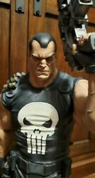 Punisher Comiquette Exclusive Statue By Sideshow 177/400 W/ Olivetti Art Print