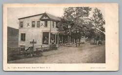 Stores Briarcliff Manor New York Udb Rare Antique Westchester County 1910s