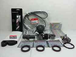 Genuine Timing Belt + Water Pump W/plugs And Complete Kit For Acura Rdx Tl Tsx V6
