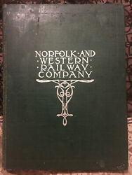 Nandw Norfolk And Western Railway Shippers And Buyers Guide Railroad History 1904 Usa