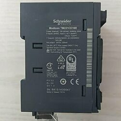 1pc Used Brand Schneider Controller Tm221ce16r Tested Fully Fast Delivery
