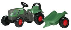 Rolly Toys Fendt 516 Vario Pedal Tractor With Trailer +2.5 Years Art013166